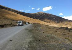Paso de camiones a Las Bambas se reanuda de manera progresiva