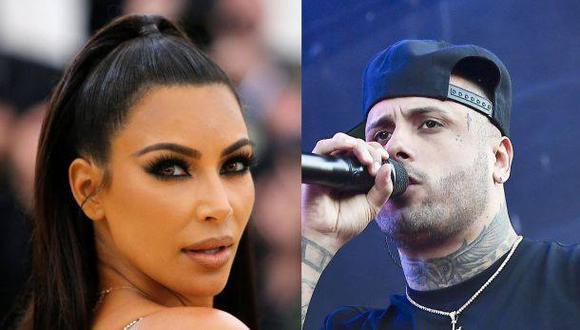 Kim Kardashian y Nicky Jam. (Fotos: Agencias/ Video: Instagram)