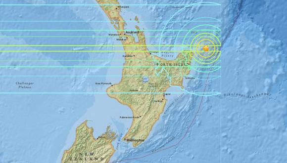 Terremoto de 7 grados remece costa de Nueva Zelanda
