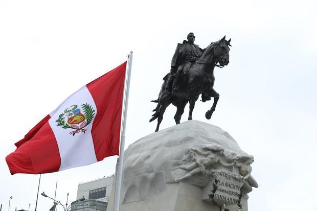 Perú celebra sus 200 años de independencia. (Foto: Britanie Arroyo/@photo.gec)