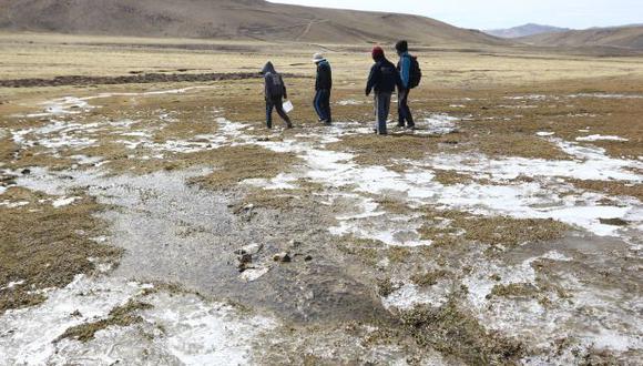 Las heladas en la sierra sur recrudecerán desde el jueves