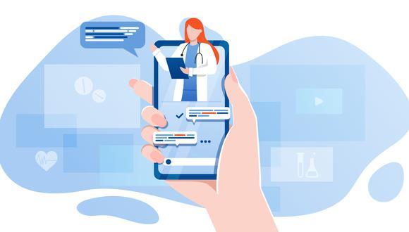 En diálogo con el periodista Martín Tumay, el doctor Edén Galán, secretario de interior del Colegio Médico del Perú, detalla más acerca de estas nuevas plataformas tecnológicas, que servirán de soporte en tiempos donde la nueva normalidad se rige por el distanciamiento social. (Foto: Shutterstock)