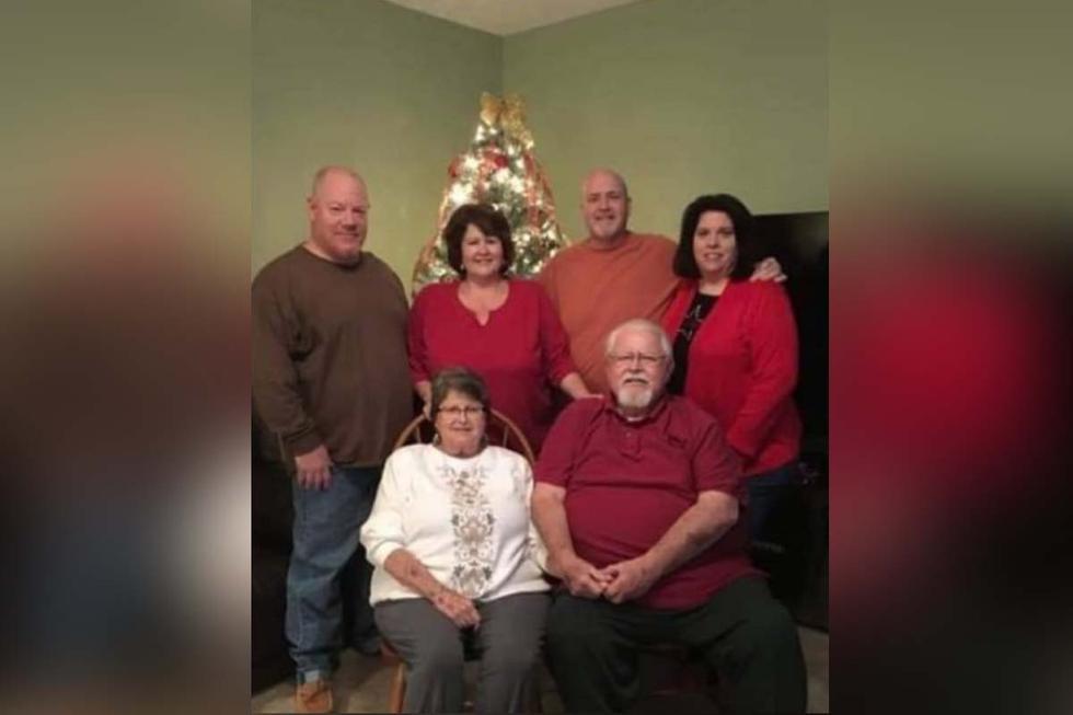 Esta es la foto de la familia de Conkey, el día que sin saber se contagiaron de coronavirus.  Foto: Kelly Conkey Billups/Facebook