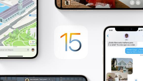 IOS 15. (APPLE)