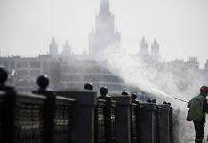 El silencio se apodera de las calles de Moscú tras nuevas medidas contra el coronavirus   FOTOS