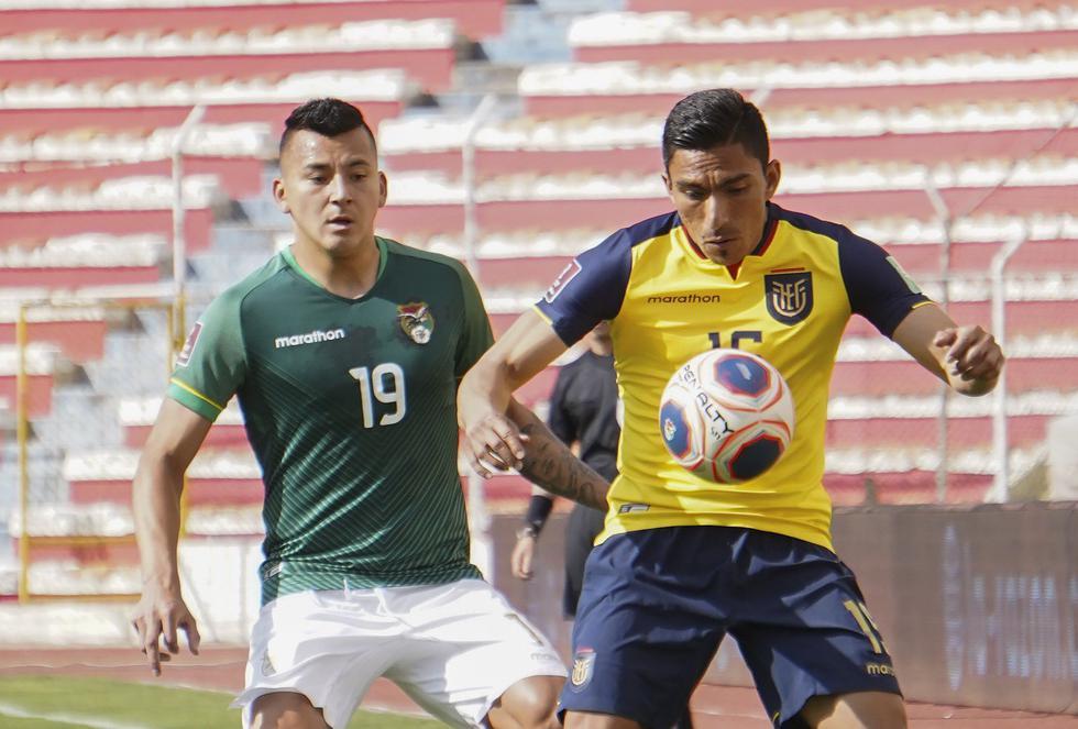 Bolivia - Ecuador: Eliminatorias Qatar 2022. (Foto: AFP)