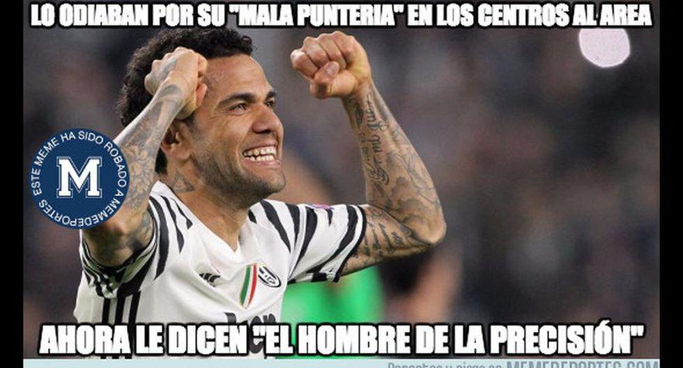 Juventus vs Mónaco: Dani Alves es protagonista de los memes - 20