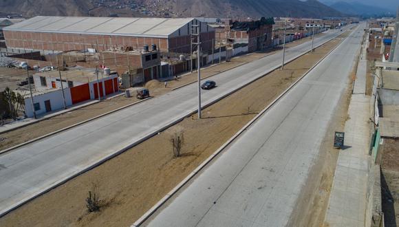 La obra de la Municipalidad de Lima iba ser inaugurada en los próximos días. (Foto: MML)