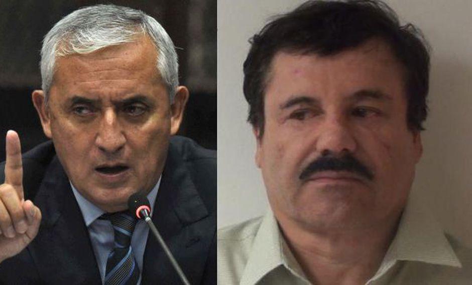 """Otto Pérez Molina: """"Rechacé un soborno de 'El Chapo' Guzmán"""""""