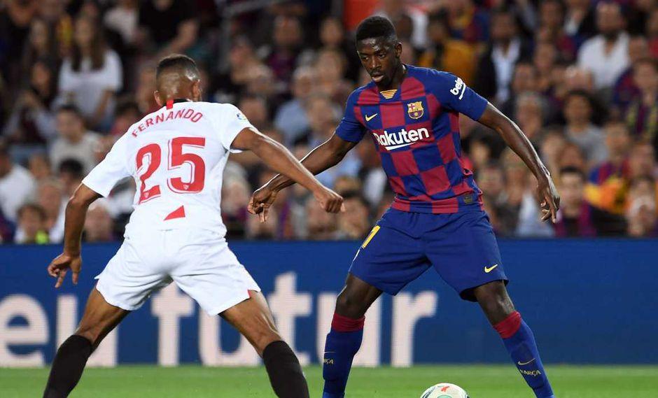 Barcelona apelará a las sanciones de Ousmane Dembélé y el defensor Ronald Araujo. (Foto: AFP)
