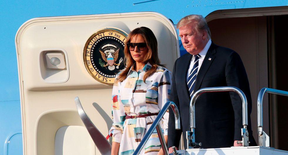 Donald Trump llega a Japón para conocer al emperador y revisar agenda global. (AFP).