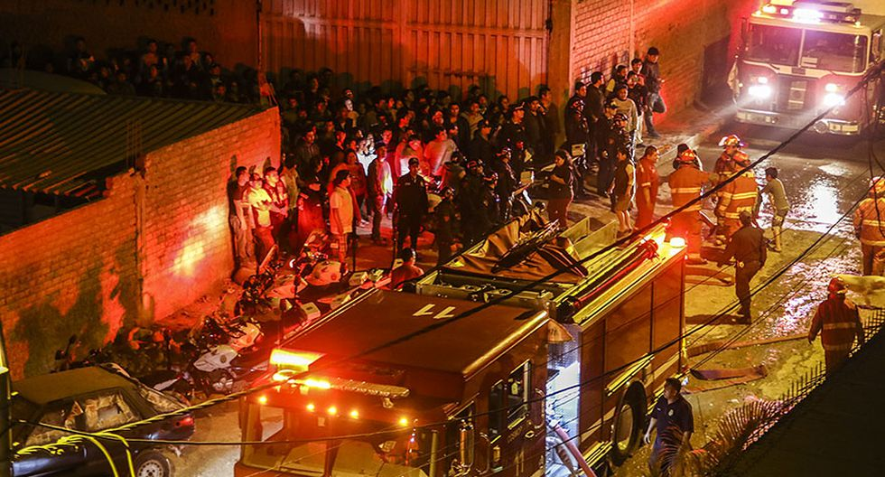 El Agustino: la tragedia que cobró vida de 3 bomberos [FOTOS] - 6