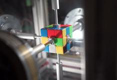 El robot capaz de armar un cubo de Rubik en 0,38 segundos [VIDEO]