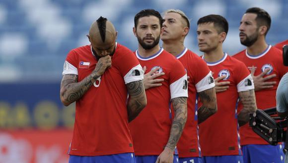 La selección chilena enfrentará a Brasil, Ecuador y Colombia en la fecha triple de Eliminatorias | Foto: AP