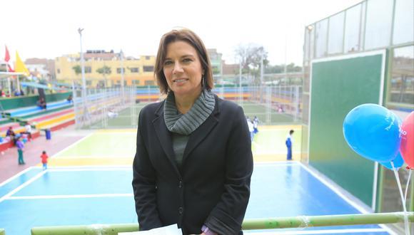 Anna Zucchetti, ex presidenta del directorio del Servicio de Parques de Lima (Foto: Lino Chipana/ El Comercio)