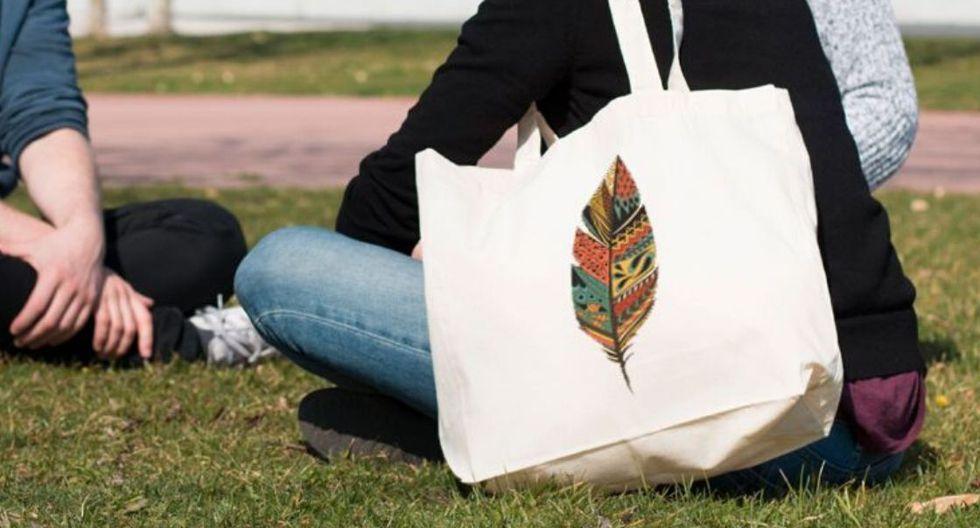 Las bolsas de tela crean conciencia en otras personas. (Foto: Vernácula)