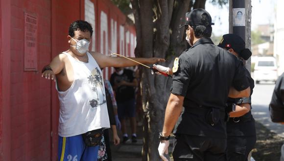 Publican reglamento que brinda detalles por cada multa a pagar por parte de un infractor que incumple disposiciones del estado de emergencia por coronavirus (Foto: Diana Marcelo/GEC)