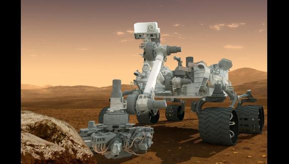 Curiosity: Más pruebas que sustentan que hubo un lago en Marte
