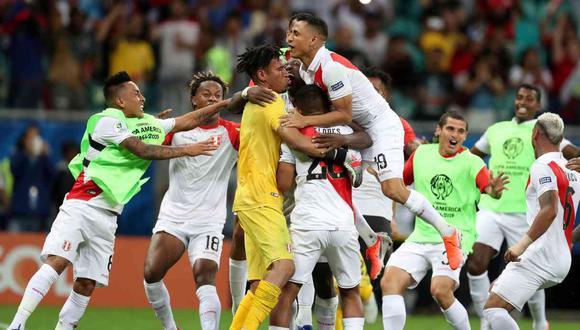 La primera victoria de la selección peruana vía tanda de penales. (Foto: Reuters)