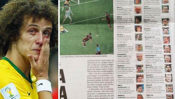 Diario O Globo califica con cero a todo el plantel de Brasil