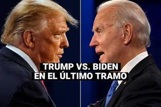 """Elecciones USA: Joe Biden promete controlar la COVID-19 y Trump ofrece una """"súper recuperación"""""""
