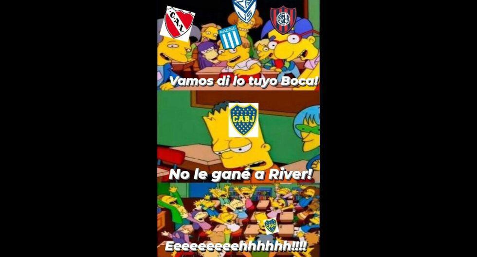 Los mejores memes del Boca vs. River. (Imagen: Facebook)