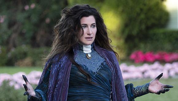 """Kathryn Hahn interpreta a Agatha Harkness en """"Wandavision"""" y ha recibido muy buenas críticas por su interpretación del papel. (Foto: Disney Plus)"""