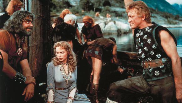 En 1958 la historia protagonizada por dos vikingos (Kirk Douglas, Tony Curtis) que peleaban por el amor de una princesa (Janet Leigh) conquistó Hollywood.