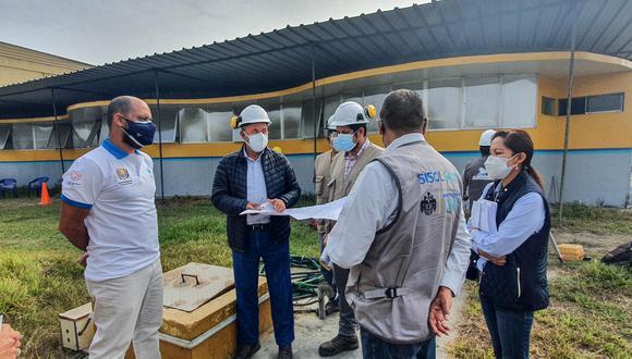 La planta funcionará al lado del centro de salud Sisol, ubicada a la altura del km. 44 de la antigua Panamericana Sur. (Foto: Municipalidad de Punta Hermosa)