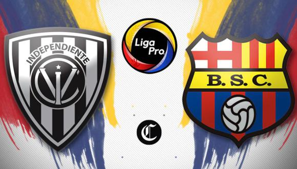 Barcelona SC vs. Independiente del Valle se enfrentan por la fecha 6 de la Liga Pro 2020 | Diseño El Comercio