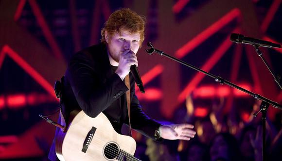 Ed Sheeran. (Foto: AFP)