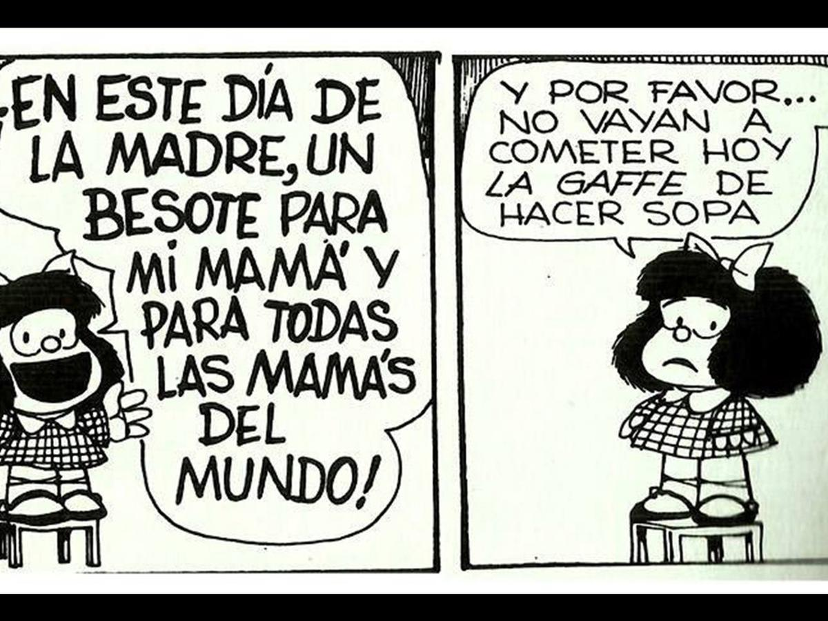 A Su Manera 10 Viñetas De Mafalda Que Rinden Tributo A Mamá Viu El Comercio Perú