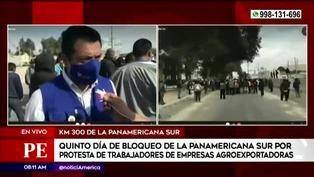 Defensoría del Pueblo llegó a Ica para intermediar en protestas