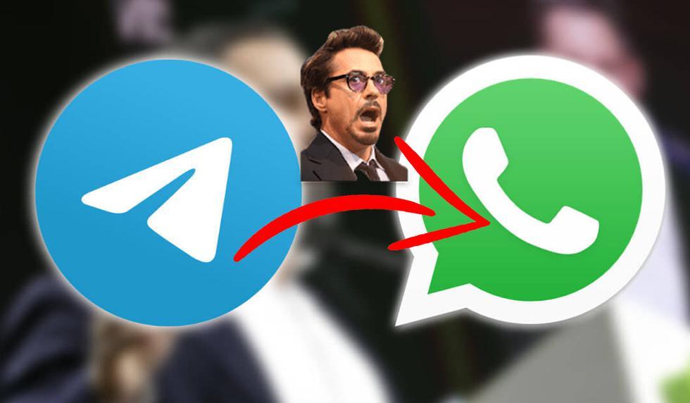 FOTO 1 DE 3 | De esta forma podrás pasar todos tus stickers de Telegram a WhatsApp en un instante. | Foto: Composición (Desliza a la izquierda para ver más fotos)