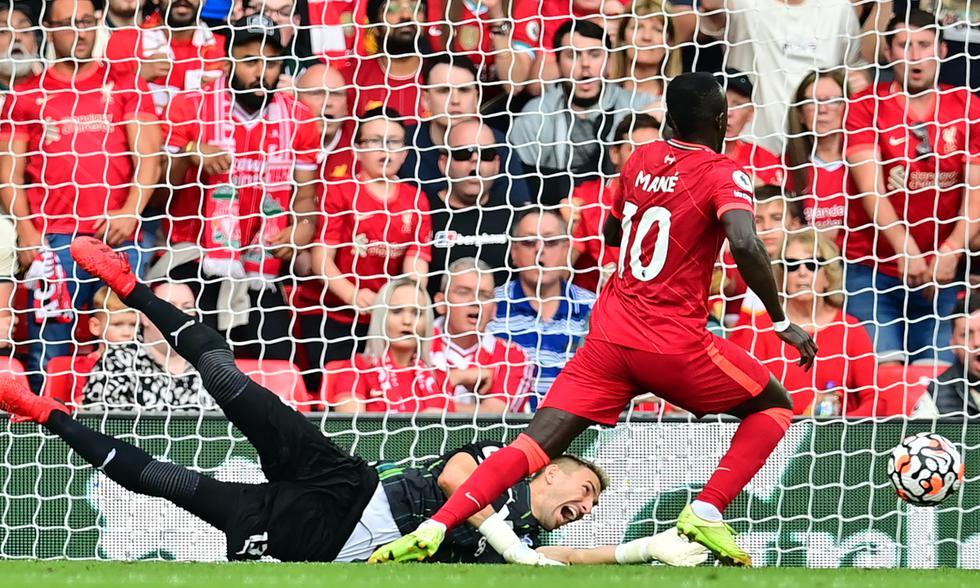 Liverpool vs. Crystal Palace se vieron las caras por la jornada 5 de por Premier   Foto: AFP