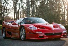 Este histórico e increíble prototipo de Ferrari F50 sale a subasta   FOTOS