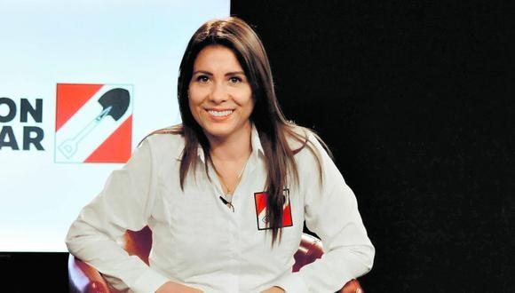 Mónica Saavedra encabezó la lista de Acción Popular en Lima. (Foto: Difusión)