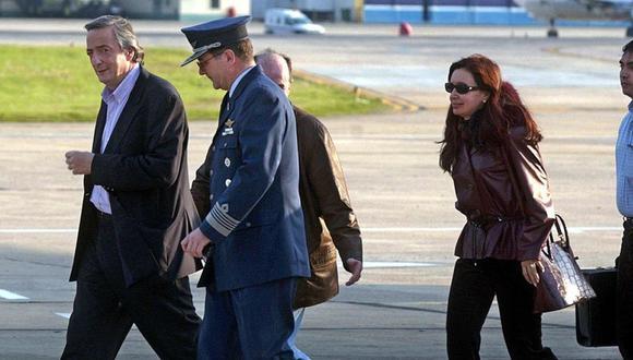 Argentina: Ex piloto de los Kirchner relató el traslado de bolsos en avión presidencial. Según fuentes judiciales, se trata de Sergio Velázquez. (Foto referencial: AFP)
