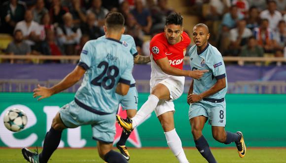 AS Mónaco recibe esta tarde a Porto (1:45 p.m EN VIVO ONLINE por ESPN 2) por la segunda fecha del Grupo G de la Champions League. (Foto: AFP)