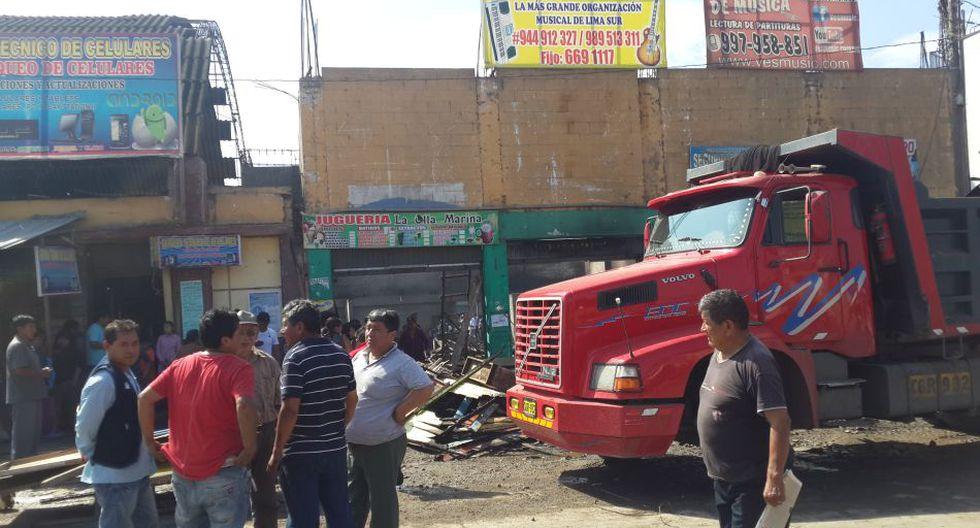 Incendio en Villa El Salvador: así quedó el mercado afectado - 4