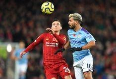 Liverpool venció 3-1 a Manchester City y sigue en la cima de la Premier League