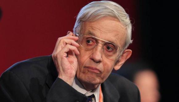 Murió John Nash, el Nobel que inspiró 'Una Mente Brillante'