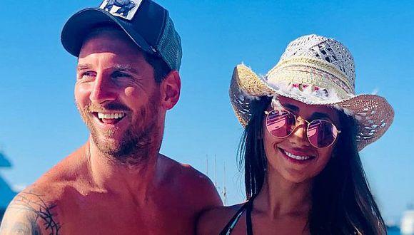 Lionel Messi y Antonela Roccuzzo se casaron en julio del 2017. (Foto: Instagram)