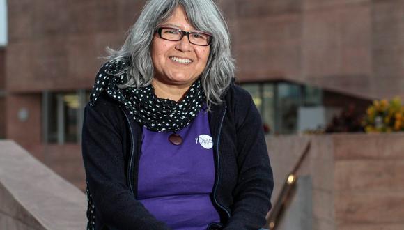 Dra. Myriam Pajuelo, profesora de la Sección Física del Departamento Académico de Ciencias de la PUCP. (PUCP)