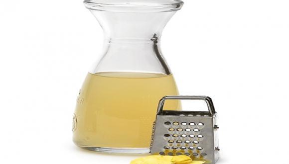 Decocción de limón y kion