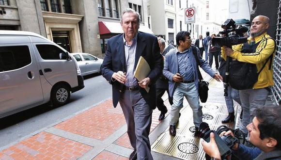 José Graña señaló que suscribieron convenio con Odebrecht. (Foto: GEC)