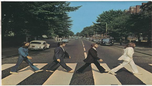 """La sesión de fotos para la mítica portada del álbum """"Abbey Road"""" tomó 10 minutos. / Foto: AFP."""