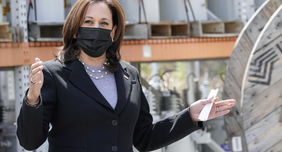 """Kamala Harris asks to give """"hope"""" to Central Americans not to emigrate"""