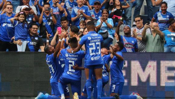 Emelec clasificó a la etapa final del fútbol en Ecuador | Foto: Emelec