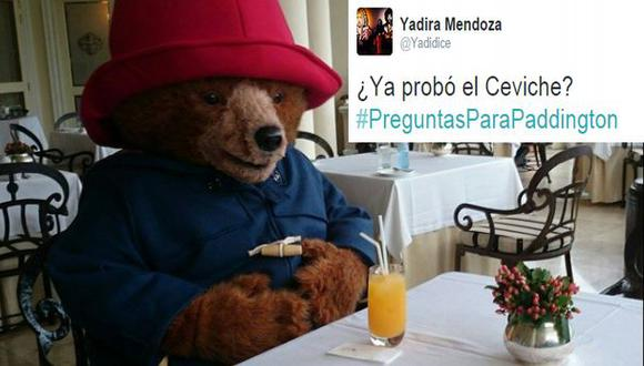 Twitter: #PreguntasParaPaddington ante la llegada del oso